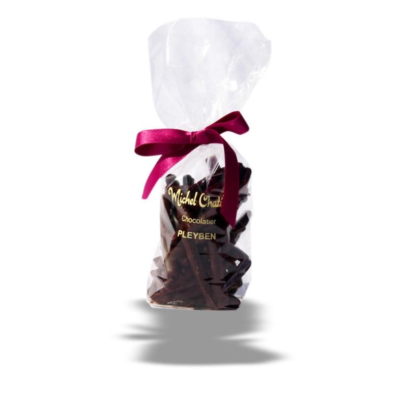 Sachet d'orangettes chocolats Michel Chatillon