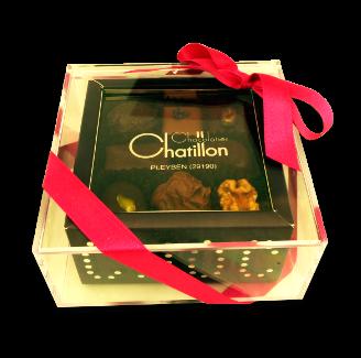 Boîte bijoux 180g de chocolats assortis