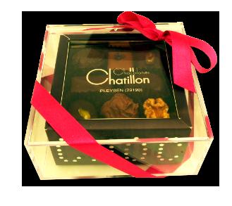Boite Bijoux 180g de chocolats-assortis