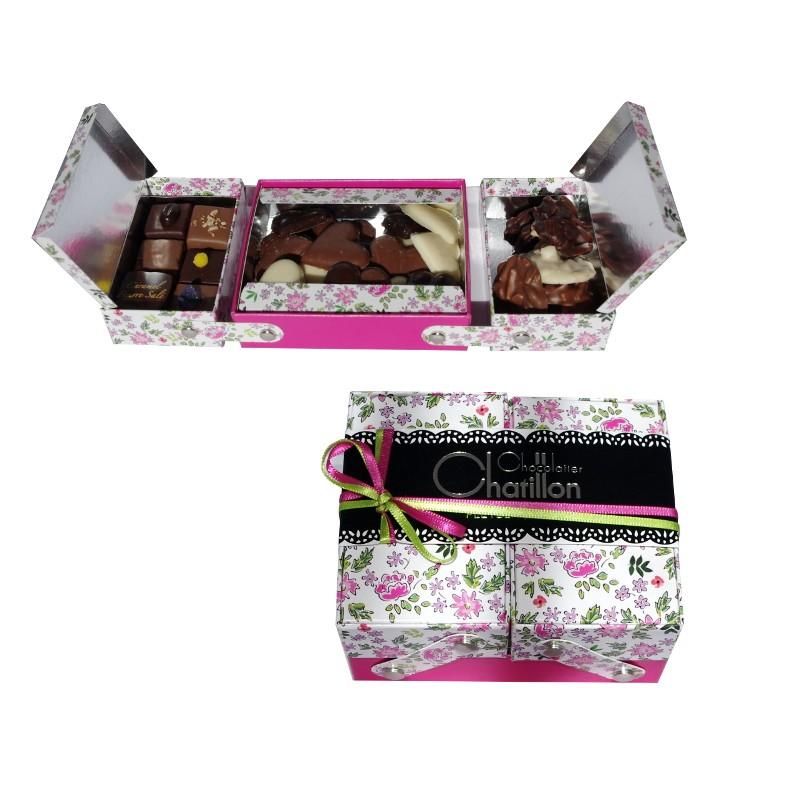 Boîte couture chocolats Michel Chatillon