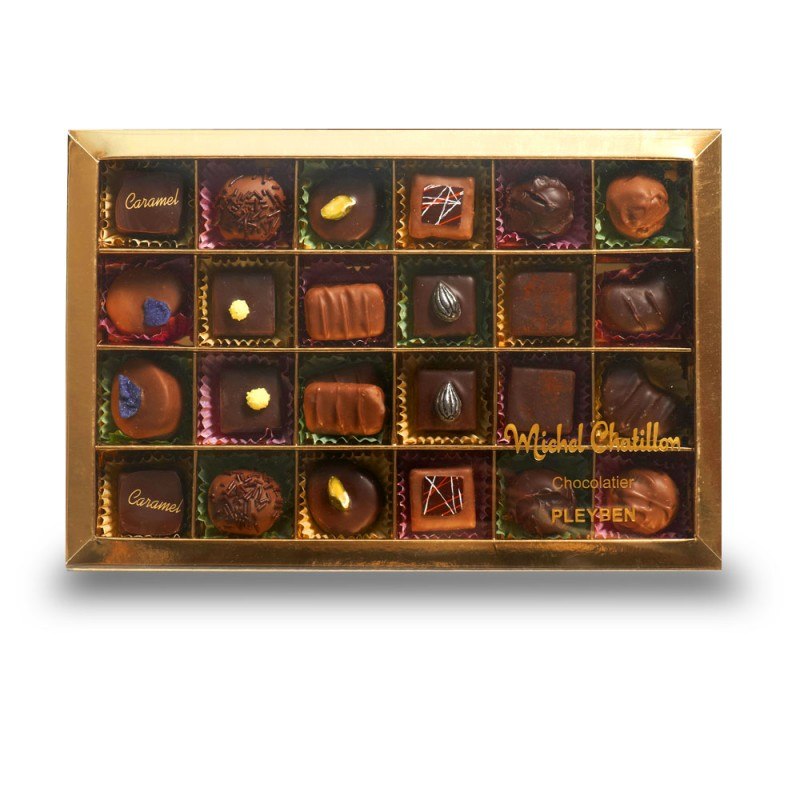 Boite compartiment chocolats Maison Chatillon