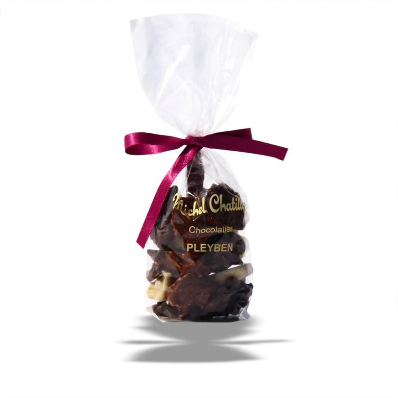 Sachet Rochers aux amandes 3 chocolats