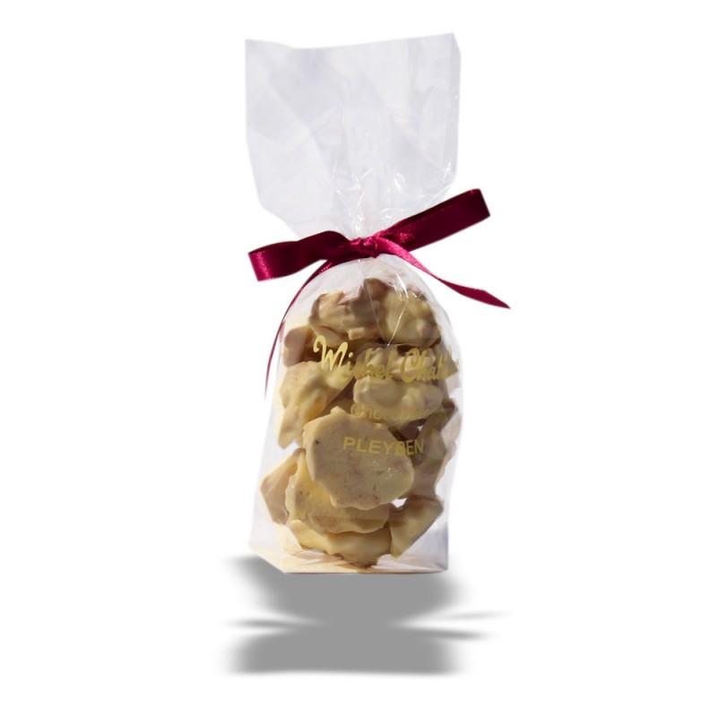 Sachet Rochers aux amandes chocolat blanc