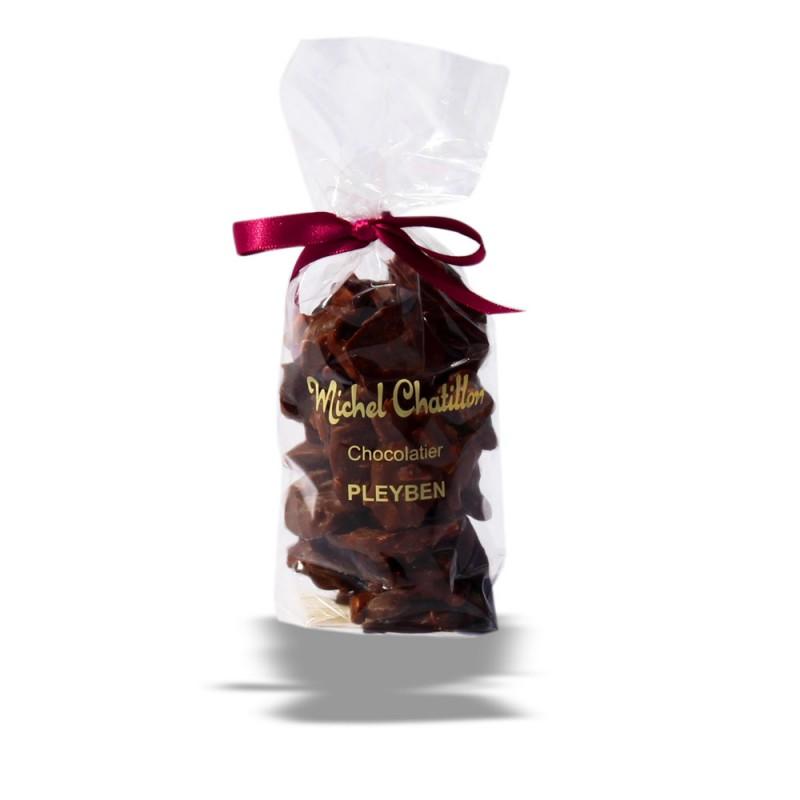 Sachet Rochers aux amandes chocolat noir
