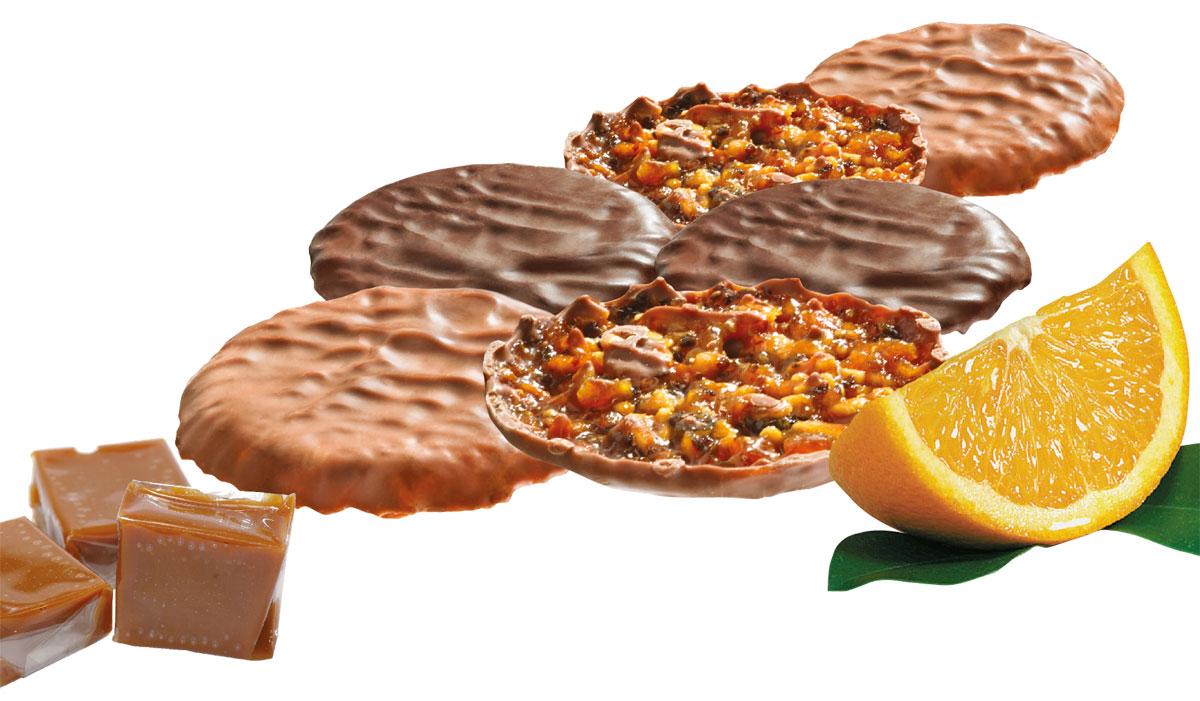 Florentins caramel orange