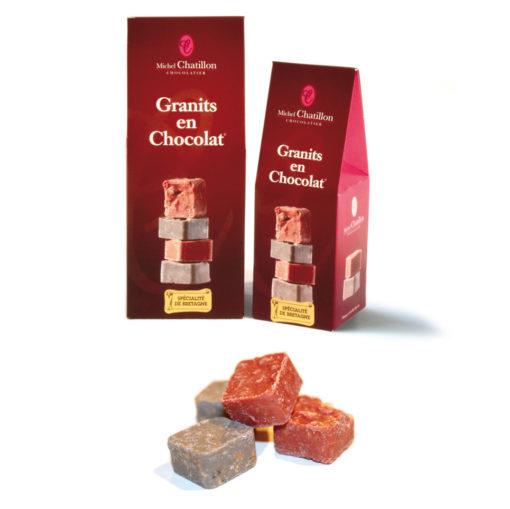 Granit en chocolat