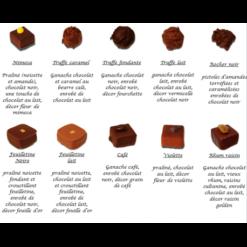 Plaquette chocolats