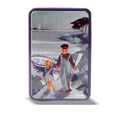 Boîte métal pêcheurs