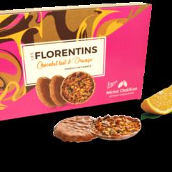 Florentins chocolat lait et orange 100g