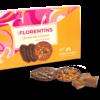 Florentins chocolat noir et caramel au beurre salé 100g
