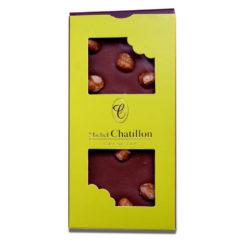 Tablette chocolat lait noisette