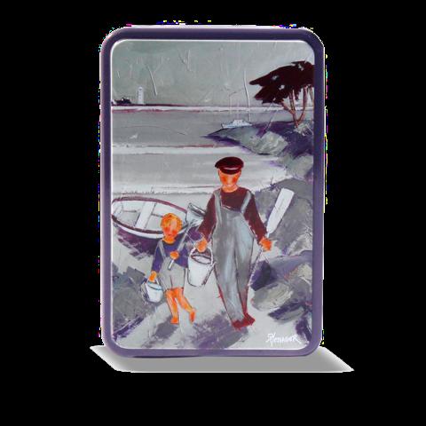 Boîte métal Pêcheur