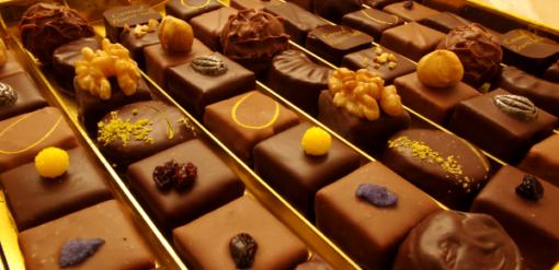 Slide chocolat