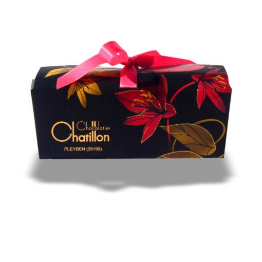 Boîte noire chocolat assortis